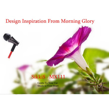 SikkiS Metal In-Ear  Earphones Mic Remote Unique Design 3.5mm Stereo Bass Sound for Mobile Phone iPhone PC MX111