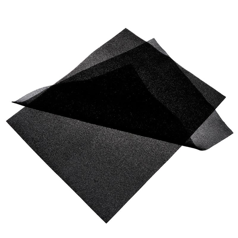 Diy 500*400*3mm/5mm Computer Mesh Sponge PC Case Fan Cooler Dust Cover 60PPI
