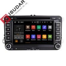 Ventas al por mayor! 7.1.1 Android 7 Pulgadas de Coches Reproductor de DVD Para VW/Golf/Tiguan/Skoda Fabia/Rápido/asiento/Leon/Skoda CANBUS Wifi GPS Radio