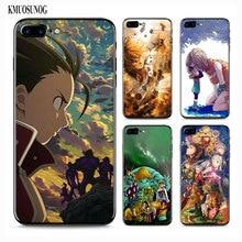 ce5b56434df5de KMUOSUNOG Black Soft Silicone Phone Case for iPhone X XR XS 8 7 6 6S Plus 5  5S SE
