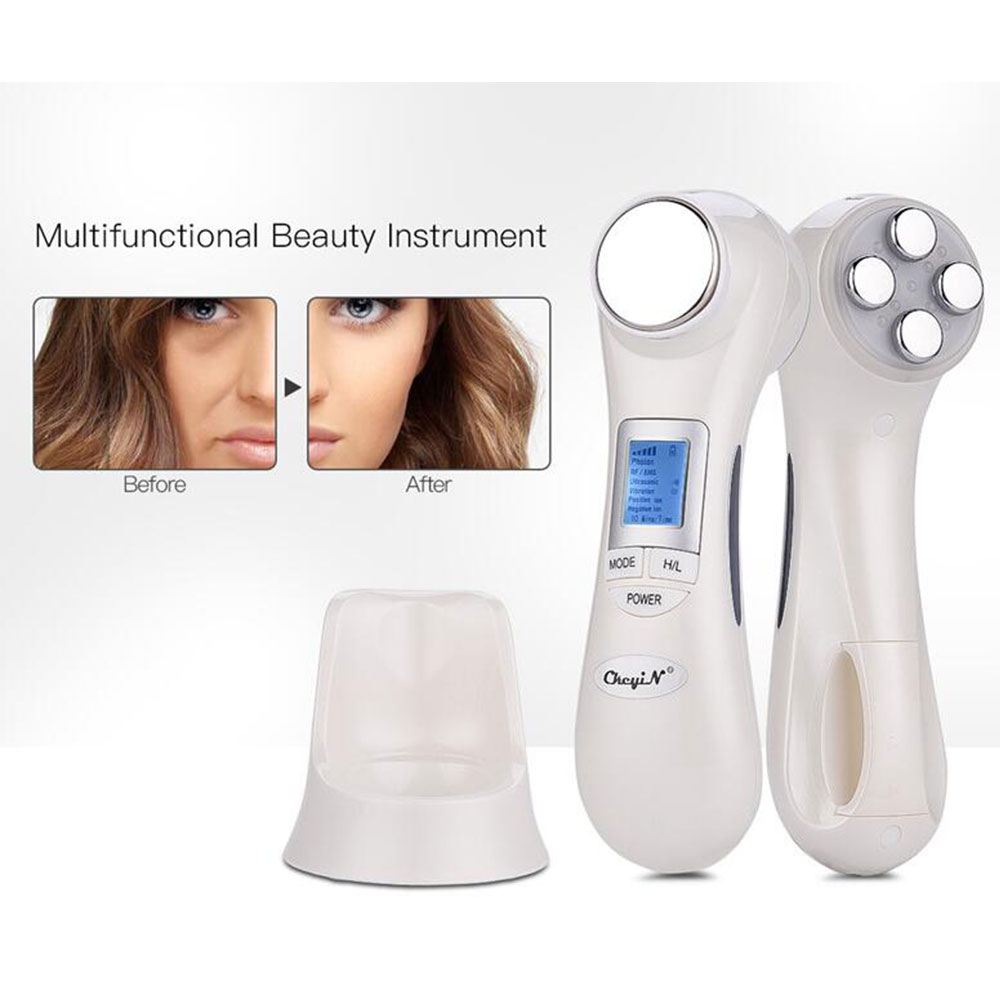 New USB Charging Ultrasonic Hot Cold Hammer Skin Tighten Device Face Lifting Beauty Machine Home Spa For Face Care ToolsNew USB Charging Ultrasonic Hot Cold Hammer Skin Tighten Device Face Lifting Beauty Machine Home Spa For Face Care Tools