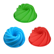 Silicone Cake Mould Fondant Decoration Baking Ice Tray Chocolate Green