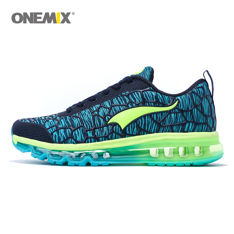 ONEMIX 2017 Air Men's Athletic Running Shoes Male New Outdoor Sport Shoes Breathable Walking Sneakers Free Shipping 1156 onemix 2016 men s running shoes breathable weaving walking shoes outdoor candy color lazy womens shoes free shipping 1101