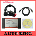 2017 New arrival tcs cdp Multidiag pro+ with 2015.R1 dvd software obd2 scan tools With /without Bluetooth can choose -Free ship
