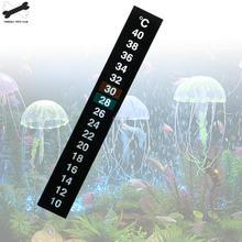 1 шт. аквариумный аквариум termmometro цифровой температурой Adesivo Dupla Escala