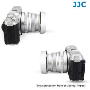 Image 4 - JJC En Métal Caméra Lentille Hotte Vis pour Fujifilm XF 35mm f/2 R WR Sur X T4 X T200 X A7 Xpro3 Xpro2 Remplace Fujifilm LH XF35 2