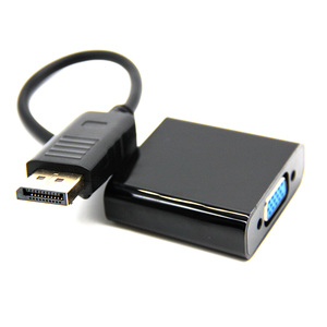 Image 1 - رائجة البيع ذكر عرض ميناء DP إلى VGA شاحن أنثي محول الكابل لجهاز العرض DTV TV HDVD لاعب 1080P