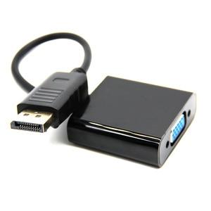 Image 1 - Hot Koop Man Display Port DP naar VGA Female Adapter Kabel Converter Voor Projector DTV TV HDVD Speler 1080 P
