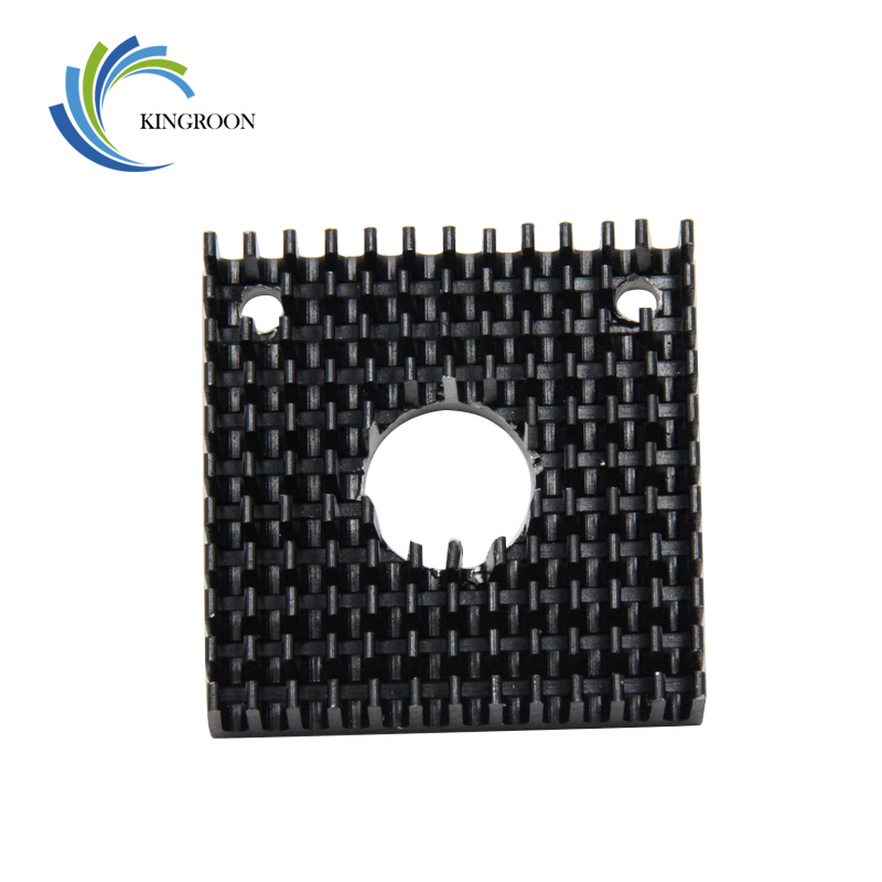 MK7 MK8 Heat Sink 3D Printers Parts 40mm*40mm*11mm Black Heatsink 40x40x11mm Accessories Aluminum Alloy Cooling Fins Sinks PartMK7 MK8 Heat Sink 3D Printers Parts 40mm*40mm*11mm Black Heatsink 40x40x11mm Accessories Aluminum Alloy Cooling Fins Sinks Part