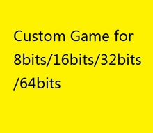 Custom Game Voor 8 Bits/16 Bits/32 Bits/64 Bits Super N8 Md 64 Master Turbo st