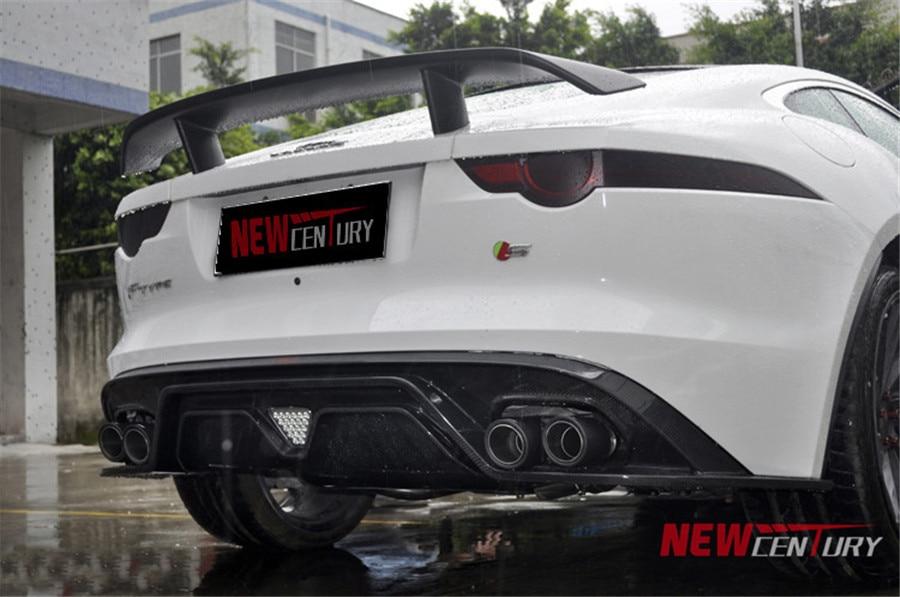 For Jaguar F Type 2014 2015 2016 2017 Carbon Fiber Spoiler