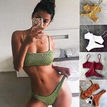 Biquinis Feminino Sexy Bikinis 2019 Mujer Swimsuit Women Swimwear Female Brazilian Push Up Bikini Set Beach Wear Bathing Suit
