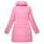 Frete Grátis Mulheres Cotton Inverno Parkas Qualidade Superior Sólidos Casacos de Inverno 2017 Mulheres Novo Estilo de Casacos de Inverno Para Baixo 60