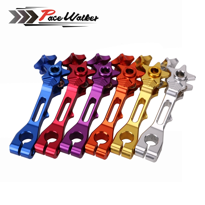 MZOOM Motorcycle Accessories 7 color Rear Brake Rocker Arm / lever For Honda