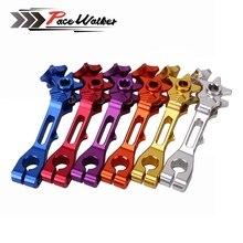 Аксессуары для мотоциклов 7 цветов задний тормоз коромысла/рычаг ЧПУ алюминий для Honda Yamaha