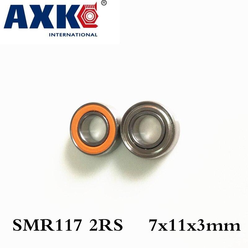 Axk 7x11x3 Smr117 2rs Cb Abec7 Ld 7x11x3mm Stainless Steel Hybrid Ceramic Ball Bearing Fishing Vessel Bearing Smr137 Cb stainless steel hybrid ceramic ball bearing smr84 2rs cb abec7 4x8x3mm