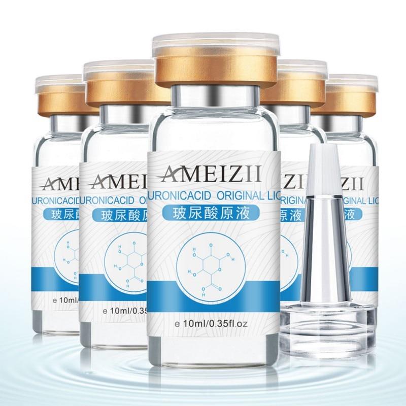10ml Pure Hyaluronic Acid Liquid Moisturizing Whitening Snail Repair Anti Wrinkle Serum Pregnant Women's Eye Essence