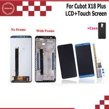 Ocolor עבור Cubot X18 בתוספת LCD תצוגת מסך מגע + מסגרת 5.99 + כלים + דבק עבור Cubot x18 בתוספת טלפון + סיליקון Case