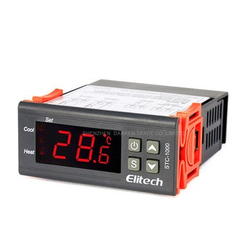 stc-1000 Temperature Controller 10pc Thermostat Measuring Range -50-99 degree thermostat temperature