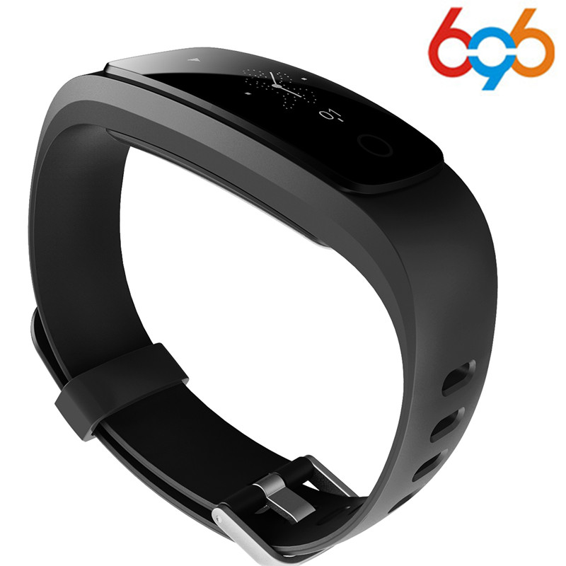 696 Orginal ID107Plus HR Smart Heart Rate Bracelet Monitor ID107 Plus Wristband Health Fitness Tracking For Android iOS Vs MI Ba