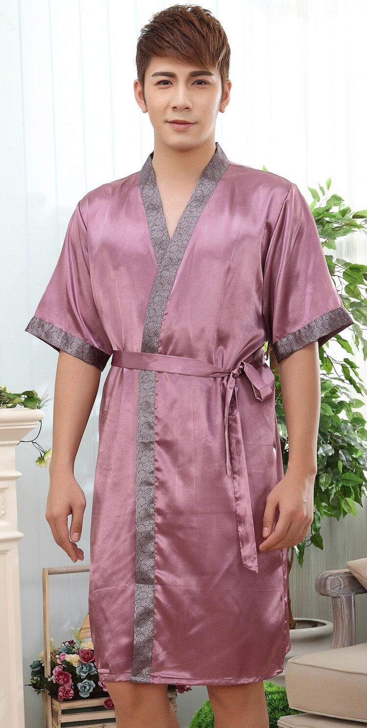 Amantes robe Rayon Bañeras robe para las mujeres y hombre kimono ...