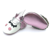 Wholesale Alibaba Handmade Custom Cute Baby Boy And Girls Party Moccasins Blush Unicorn Baby Shoes