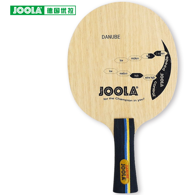 Joola Danube 5 Ply Wood Table Tennis Blade for PingPong Racket BLADE for New Material Era [Playa PingPong]