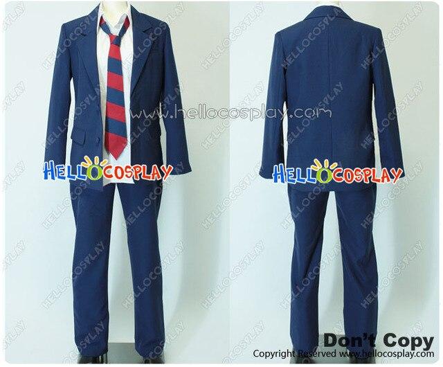 Vie quotidienne des garçons du secondaire Cosplay Sanada North lycée garçon uniforme H008