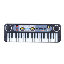 37 Keys Multifunctional Mini Electronic Keyboard Music Toy with Microphone Educational Electone Gift for Children Kids Babies(China)