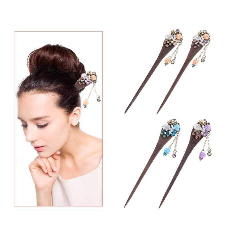 Detail Feedback Questions About Women Classical Hair Pin Stick
