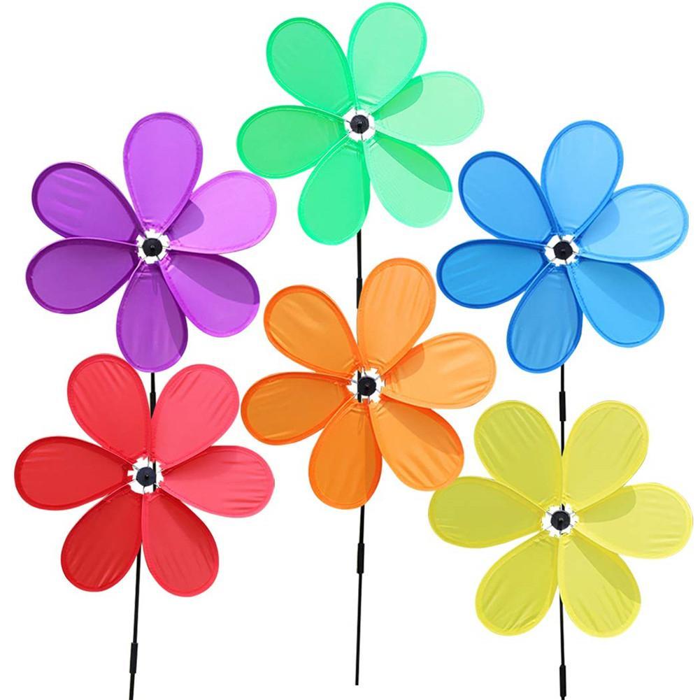 Wind Spinners Sunflower Lawn Pinwheels Windmill Party Pinwheel Wind Spinner for Garden Decor