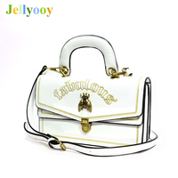 Women Leather Handbags Embroidery Letter Bag Metal Small Bee Shoulder Messenger Bags High Quality Famous Designer Crossbody Bags