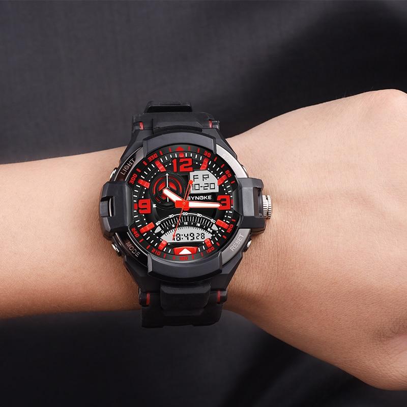 Neueste Kollektion Von Synoke Männer Uhr Relogio Masculino Multifunktions Digitale G Sport Shock Uhren Led Quarz Alarm Wasserdichte Armbanduhr Uhren Digitale Uhren