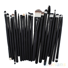 20 Pcs Kit of Makeup Brushes Set