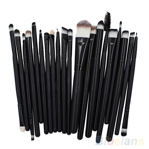 20 Pcs Kit of Makeup Brushes Set