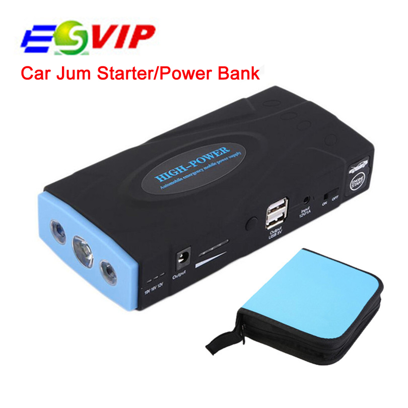 Multi-function Emergency Charge 12 V Car Jump Starter  Mobile Power Bank For Petrol Diesel Car/Motorcycle/Digital