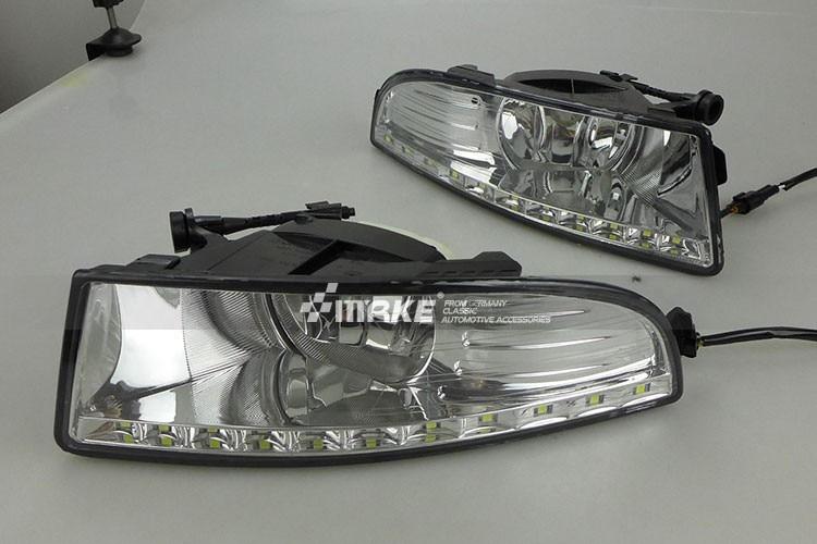 for SKODA OCTAVIA DRL, Daytime running light for OCTAVIA FABIA 2010 13 DRL, LED FOG LAMP, FOG LIGHT 2012 DRL+ Free Shipping