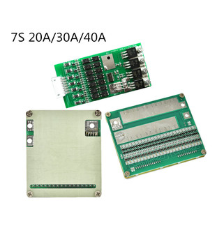 BMS 7S 20A/7S 30A/7S 40A 24V balanced charging lithium battery protection board polymer battery protection board power tool фото