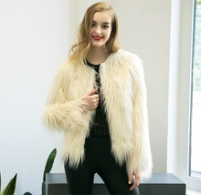 6XL Sale Faux Fur Wool Womens 2019 new Jackets Coats Winter Jacket Women warm longhair faux fur coats jackets Fashion