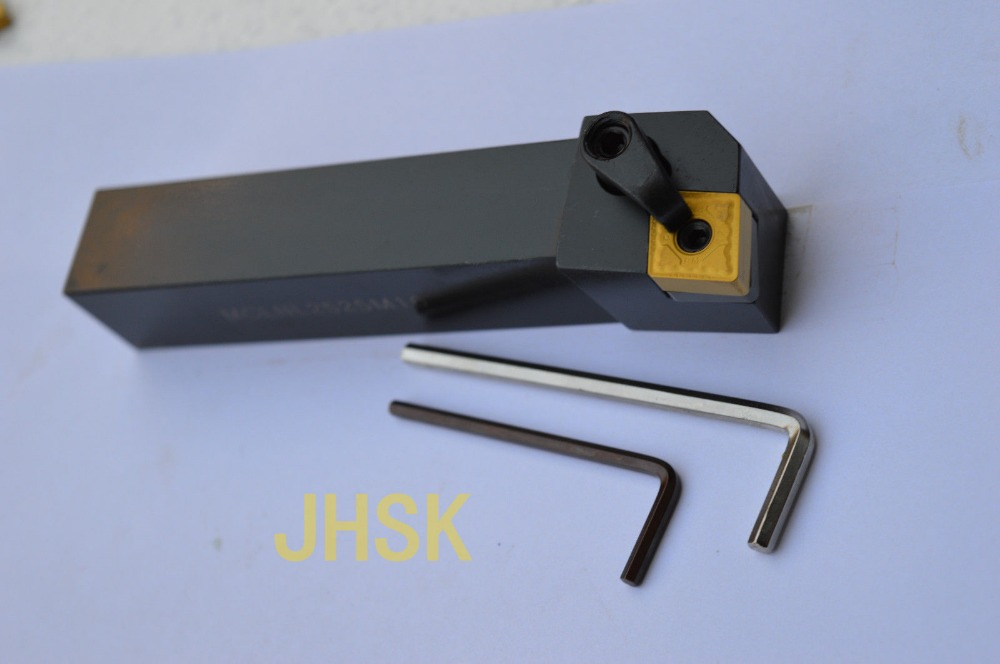FREE SHIPPING MCLNL2525M16 Indexable turning tool holder Right Hand 95 Degree for CNMG1606