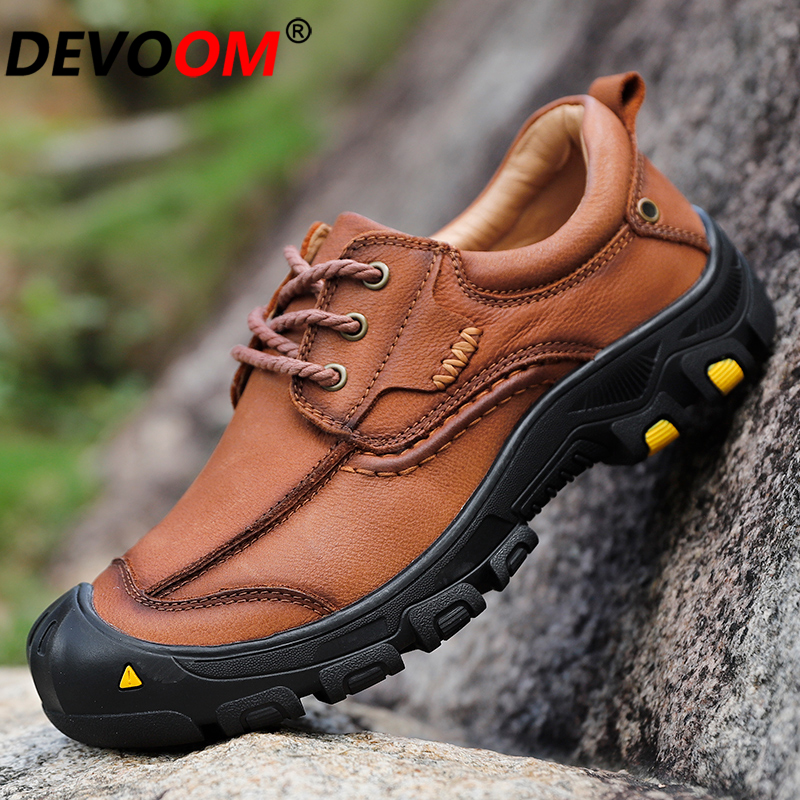 Men Hiking Shoes Breathable Outdoor Sport For Male 2019 Slip on Trekking Shoes Wearable Mountain Shoes