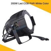 HOT 200W Led COB PAR White Color COB Led Par Lighting Disco Bar Night Club Led Cob Par Wash Light