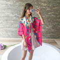 Size 130*130cm, 2016 new four seasons  silk scarf Shawl Beach towel shawls and scarves women Square scarves skyour