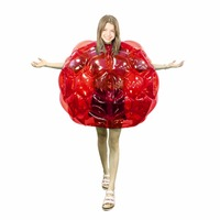 Inflatable Body Bumper Balls Bubble Soccer Suits LOT Environmentally Friendly PVC Funny Body Zorb Ball For Kids 24