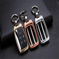For Land Rover Aurora Range Rover Sports Remote Car Key Cover Key Case Mens Gift with gift keychian LZH