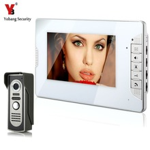 YobangSecurity Video Intercom Monitor 7″ Door Phone Home Security Color Wire 1 Camera 1 Monitor for House/Office/apartment/Hotel