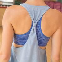Mulheres ginásio de esportes tanque + camisa bra t colete de treinamento de fitness exercício de corrida sportswear roupas yoga treino tee tops roupas