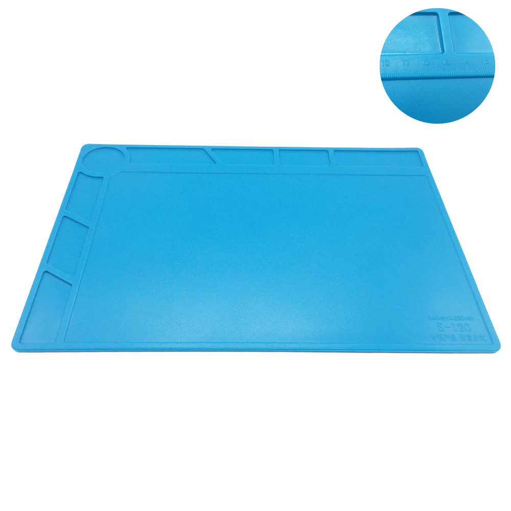 34x23cm con 20 cm scala righello isolamento termico pad in silicone - Set di attrezzi - Fotografia 2