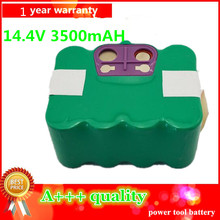 NI-MH 14.4V 3500mAh vacuum Cleaner Battery High quality Battery for KV8 XR210 KAILY 570 580 ZECO V700 V770 Zebot Z320 battery