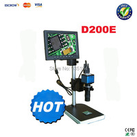 VGA HD video camera D200E video microscope with frame support, two kinds of mode selections